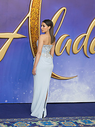 Will Smith, Mena Massed, Naomi Scott, Guy Ritchie, Marwan Kenzari, Jackie Ritchie, Alan Mencken, attend Aladdin European Gala Arrivals at Lux Odeon in Leicester Square in London, 9 May 2019.<br /><br />9 May 2019.<br /><br />Please byline: Vantagenews.com