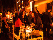 Victoria Miro hosts Supper to celebrate Frieze and Frieze Masters . One Mayfair, London. 17 October 2013