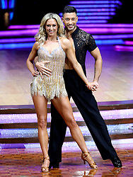 Faye Tozer and Giovanni Pernice pose for photographers during a photocall before the opening night of the Strictly Come Dancing Tour 2019 at the Arena Birmingham, in Birmingham. Picture date: Thursday January 17, 2019. Photo credit should read: Aaron Chown/PA Wire