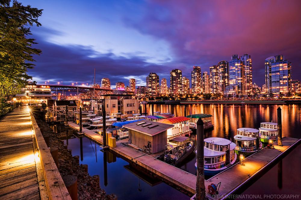 Aquabus Station @ Granville Island, Vancouver