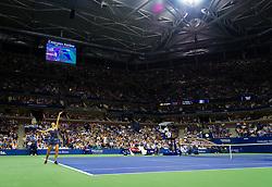 September 4, 2018 - Karolina Pliskova of the Czech Republic in action during her quarter-final match at the 2018 US Open Grand Slam tennis tournament. New York, USA. September 04, 2018. (Credit Image: © AFP7 via ZUMA Wire)