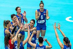19-10-2018 JPN: Semi Final World Championship Volleyball Women day 20, Yokohama<br /> Serbia - Netherlands / Stefana Veljkovic #11 of Serbia