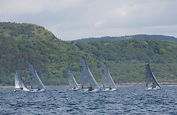Final days' racing at the Silvers Marine Scottish Series 2016, the largest sailing event in Scotland organised by the  Clyde Cruising Club<br /> <br /> Racing on Loch Fyne from 27th-30th May 2016<br /> <br /> VX One Fleet Upwind<br /> <br /> Credit : Marc Turner / CCC<br /> For further information contact<br /> Iain Hurrel<br /> Mobile : 07766 116451<br /> Email : info@marine.blast.com<br /> <br /> For a full list of Silvers Marine Scottish Series sponsors visit http://www.clyde.org/scottish-series/sponsors/