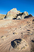 Buttes and badlands in the Red Desert of Wyoming