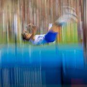 BRUSSELS, BELGIUM:  September 3:   Armand Duplantis  of Sweden in action during the pole vault competition at the Wanda Diamond League 2021 Memorial Van Damme Athletics competition at King Baudouin Stadium on September 3, 2021 in  Brussels, Belgium. (Photo by Tim Clayton/Corbis via Getty Images)