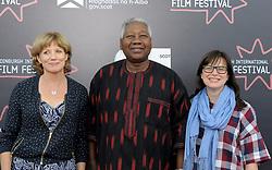 Edinburgh International Film Festival, Thursday, 21st June 2018<br /> <br /> Jury Photocall<br /> <br /> Pictured: Kate Muir, Gaston Kabore and Nada Cirjanic of the Documentary jury<br /> <br /> (c) Alex Todd   Edinburgh Elite media
