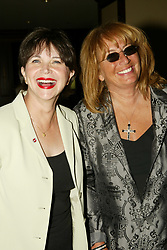 Sep 14, 2004; Los Angeles, CA, USA; Actors/directors CINDY WILLIAMS and PENNY MARSHALL ('Laverne and Shirley') at the 30th Annual 'Dinner of Champions' at the Century Plaza Hotel..  (Credit Image: Phil Han/ZUMAPRESS.com)