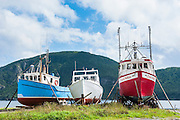 Fishing boat in Corner Brook, Newfoundland, Canada