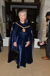 The Lord Mayor of Westminster Councillor AUDREY LEWIS at the Quintessentially Foundation and The Crown Estate's Fayre of St.James' on 27th November 2014.  The evening started with a christmas concert at St.James's Church, Piccadilly.  Following the concert singer Leona Lewis switched on the Jermyn Street Christmas lights and then guests had a party at the newly refurbished Quaglino's, 16 Bury Street, London