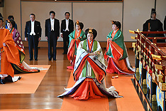 Emperor Naruhito Enthronement Ceremony - 22 Oct 2019