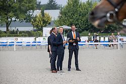 Jury<br /> Nationaal Kampioenschap KWPN<br /> 3 jarige springmerries<br /> © Hippo Foto - Dirk Caremans<br />  15/08/2020