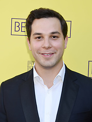 """Jessica Barth at the """"Belleville"""" Opening Night held at the Pasadena Playhouse on April 22, 2018 in Pasadena, Ca. © Janet Gough / AFF-USA.COM. 22 Apr 2018 Pictured: Skylar Astin. Photo credit: Janet Gough / AFF-USA.COM / MEGA TheMegaAgency.com +1 888 505 6342"""