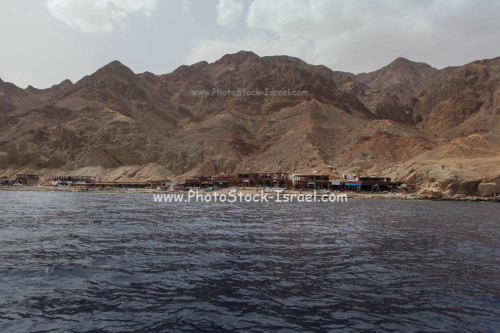 Deserted beaches at the Blue Lagoon (Dahab), Sinai, Egypt