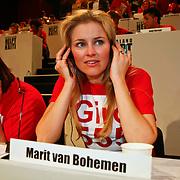 NLD/Hilversum/20100121 - Benefietactie voor het door een aardbeving getroffen Haiti, Marit van Bohemen