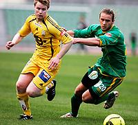FOTBALL 12. mai 2006, Addecoserien 1. divisjon herre, Manglerud Star v Bod¯/Glimt, TOM HÿGLI B/G OG CARL-ERIK TORP M/S, Foto Kurt Pedersen / DIGITALSPORT
