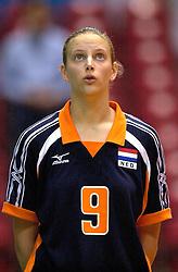 18-06-2000 JAP: OKT Volleybal 2000, Tokyo<br /> Nederland - China 3-0 / Chaine Staelens