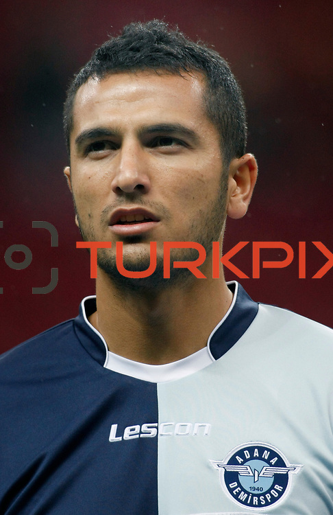 AdanaDemirspor's Burhan Coskun during their Turkey Cup matchday 3 soccer match Galatasaray between AdanaDemirspor at the Turk Telekom Arena at Aslantepe in Istanbul Turkey on Tuesday 10 January 2012. Photo by TURKPIX