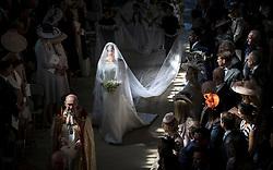 May 21, 2018 - Windsor, Windsor, United Kingdom - Image licensed to i-Images Picture Agency. 19/05/2018. Windsor, United Kingdom. The Royal Wedding of Prince Harry and Meghan Markle in Windsor, United Kingdom. (Credit Image: © i-Images via ZUMA Press)