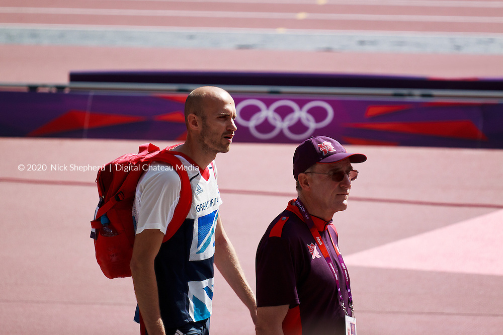 Welsh 800m runner Gareth Warburton says he feels privileged to be following in the footsteps of Britain's Olympic middle distance greats. <br /> Gareth Warburton unfortunately failed to qualify from his heat in the Mens 800m at the Olympic Park, Stratford, London, on August 6th 2012.