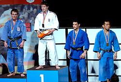 18-03-2006 JUDO: DUTCH OPEN: ROTTERDAM<br /> Jeroen Mooren pakt de zilveren medaille en Pavel Petrikov de gouden<br /> Copyrights: WWW.FOTOHOOGENDOORN.NL