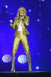 AU_1299870 - ** RIGHTS: WORLDWIDE EXCEPT IN AUSTRALIA, FRANCE, FRENCH POYNESIA, GERMANY, IRELAND, NEW ZEALAND, PORTUGAL, SPAIN, UNITED KINGDOM ** Sydney, AUSTRALIA  -  Celine Dion performs the first show of her Live 2018 tour of Australia<br /> <br /> Pictured: Celine Dion<br /> <br /> BACKGRID Australia 27 JULY 2018 <br /> <br /> BYLINE MUST READ: DIIMEX / BACKGRID<br /> <br /> Phone: + 61 2 8719 0598<br /> Email:  photos@backgrid.com.au