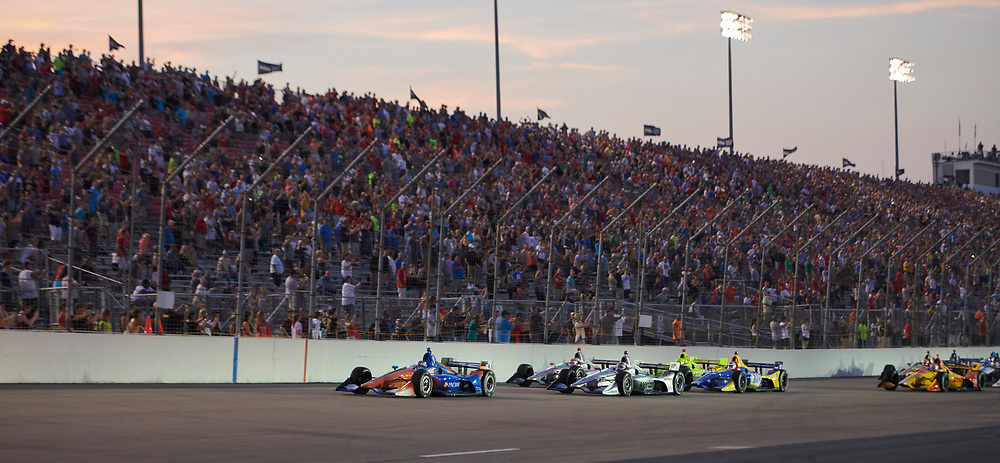 Bommarito Automotive Group 500 IndyCar race at Gateway Motorsports Park on August 25, 2018.