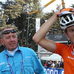 Sportfoto archief 2006-2010<br /> 2008<br /> Vader Hennie en Tom Stamsnijder