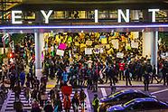 Muslim Travel Ban Demonstrations at LAX