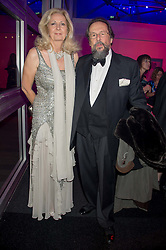 The EARL & COUNTESS OF STOCKTON at the Battersea Dogs & Cats Home's Collars & Coats Gala Ball held at Battersea Evolution, Battersea Park, London on 12th November 2015.