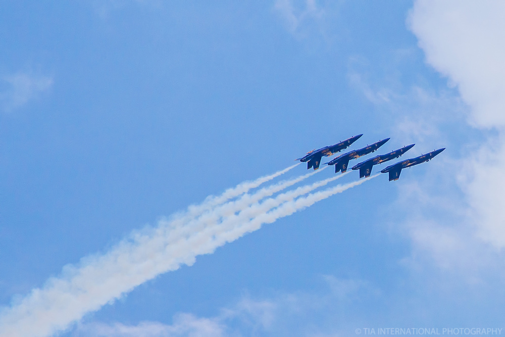 Flying Upside Down in Formation!