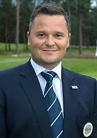 HILVERSUM - Haukur Örn Birgisson , president EGA.   ELTK Golf 2020 The Dutch Golf Federation (NGF), The European Golf Federation (EGA) and the Hilversumsche Golf Club will organize Team European Championships for men.  COPYRIGHT KOEN SUYK