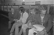 11/02/1967.02/11/1967.11 February 1967.Mick Jagger and Marianne Faithfull arriving at Dublin Airport.