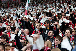 14.03.2010, Fritz Walter Stadion, Kaiserslautern, GER, 2. FBL, 1. FC Kaiserslautern vs FC Energie Cottbus, im Bild von links Fans des FCK, EXPA Pictures © 2010, PhotoCredit: EXPA/ A. Neis