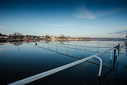 Worcester Racecourse Flooded 110216