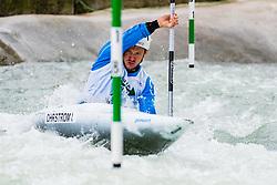 Isak OHRSTROM (SWE) during Kayak Semi Finals at World Cup Tacen, 17 October 2020, Tacen, Ljubljana Slovenia. Photo by Grega Valancic / Sportida
