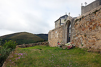 """Photographs from the 310-kilometer Camino Primitivo, or """"Original Way,"""" the first pilgrimage route of its kind in Spain. Walked in late-September, 2016, the route begins in Oviedo, crossing the rugged Cantabrian mountains of Asturias on its way to Santiago de Compostela in Galicia. The Primitivo route was first established in the 9th century, when much of Spain was under Moorish control."""
