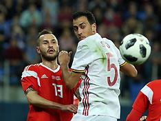 Russia v Spain - 14 Nov 2017