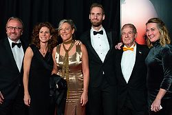 18-12-2019 NED: Sports gala NOC * NSF 2019, Amsterdam<br /> The traditional NOC NSF Sports Gala takes place in the AFAS in Amsterdam / Frits en Barbara Barend met vrienden