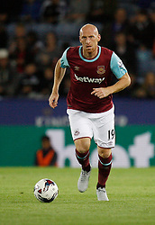 James Collins of West Ham United in action  - Mandatory byline: Jack Phillips/JMP - 07966386802 - 22/09/2015 - SPORT - FOOTBALL - Leicester - King Power Stadium - Leicester City v West Ham United - Capital One Cup Round 3