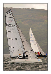 Brewin Dolphin Scottish Series 2010, Tarbert Loch Fyne - Yachting..Day one stated late but resulted in good conditions on Loch Fyne...IRL2515 ,No Angel ,Fiona Hicks ,Royal Ulster YC  RS Elite.......