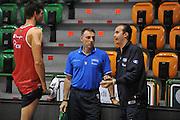 Sassari 14 Agosto 2012 - Qualificazioni Eurobasket 2013 -Allenamento<br /> Nella Foto : DANILO GALLINARI FRANCESCO CUZZOLIN SIMONE PIANIGIANI<br /> Foto Ciamillo