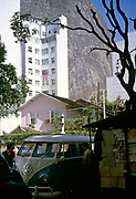 VW Volkswagen van, Copacabana, Rio de Janeiro, Brazil, South America 1962