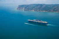 Naval Ship @ Point Loma