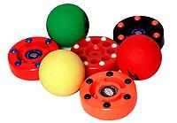 2003 Inline roller hockey balls and pucks equipment