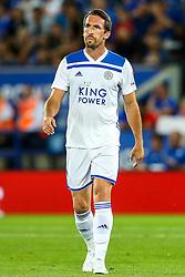 Christian Fuchs of Leicester City - Mandatory by-line: Robbie Stephenson/JMP - 01/08/2018 - FOOTBALL - King Power Stadium - Leicester, England - Leicester City v Valencia - Pre-season friendly