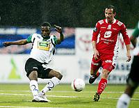 Fotball , 24. mai 2010 , Tippeligaen , Eliteserien<br /> Hønefoss - Brann 2-0<br /> Cato Guntveit , Brann<br /> Umaru Bangura , Hønefoss