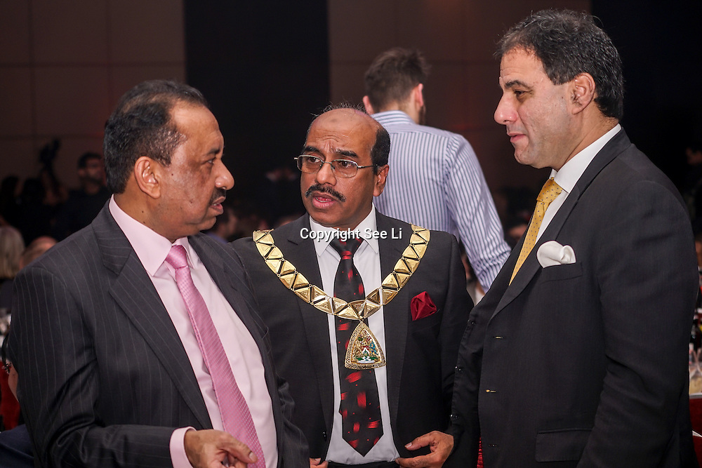 The Lord Karan Bilimoria attends the 5th British Kebab Awards on 26th Feb 2017 at Park Plaza Westminster ,London,UK. by See Li