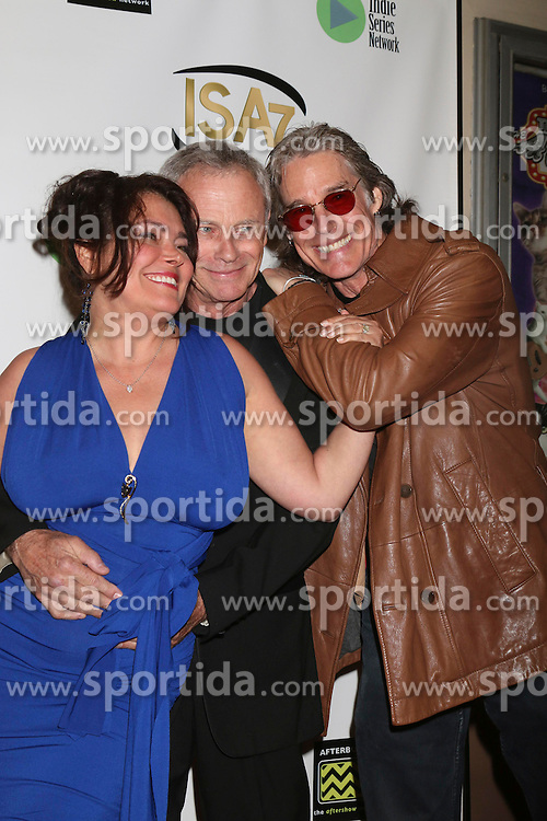 Devin DeVasquez, Tristan Rogers, Ronn Moss at the 7th Annual Indie Series Awards at the El Portal Theater on April 6, 2016 in North Hollywood, CA. EXPA Pictures © 2016, PhotoCredit: EXPA/ Photoshot/ Kerry Wayne<br /> <br /> *****ATTENTION - for AUT, SLO, CRO, SRB, BIH, MAZ, SUI only*****