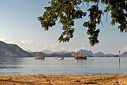 Liang Bay, Komodo Island, Indonesia.