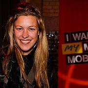 NLD/Amsterdam/20100215 -  Lancering MTV Mobile, Annemieke Schollaardt